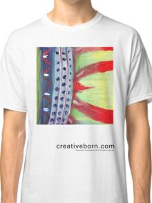 Flame Abstract  Classic T-Shirt