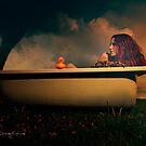 Stormy bath by Moijra