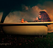 Stormy bath by Moijra