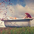 Autumn bath by Moijra