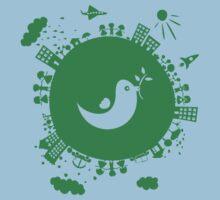 dove of peace Baby Tee