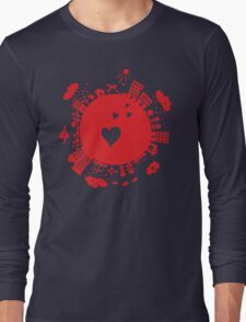 planet in love Long Sleeve T-Shirt