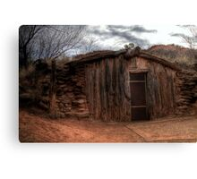 Charles Goodnight Dugout (Replica) Canvas Print