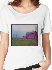 Wisconsin Barn Women's Relaxed Fit T-Shirt