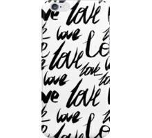 Love. iPhone Case/Skin