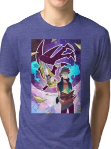 Gravity Falls - You'll Never Know What Hit You Tri-blend T-Shirt