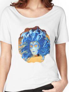 Blue blue blue Women's Relaxed Fit T-Shirt