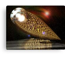Intergalactic Casket Canvas Print