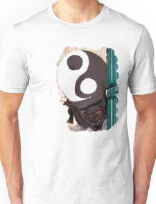 At the lamp post Unisex T-Shirt