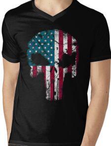 American Punisher 2.0 Mens V-Neck T-Shirt