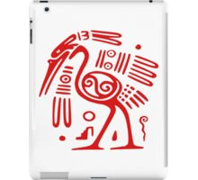 Mexican Mayan  Bird God  iPad Case/Skin