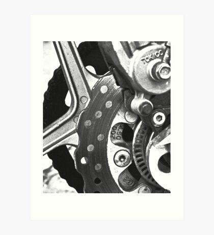 Mechanically Speaking Art Print