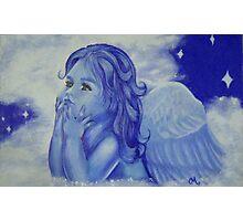 Winter Angel Photographic Print