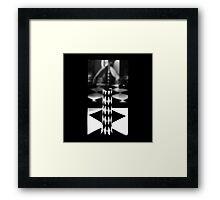 MY EVERYDAY BLACK AND WHITE Framed Print