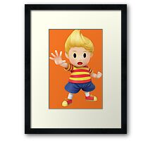 Lucas Super Smash Bros. for Wii U and 3DS Framed Print