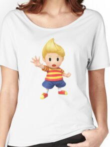 Lucas Super Smash Bros. for Wii U and 3DS Women's Relaxed Fit T-Shirt