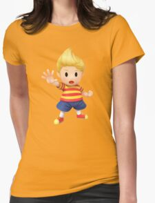 Lucas Super Smash Bros. for Wii U and 3DS Womens Fitted T-Shirt