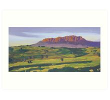 Mt Roland near Sheffield Tasmania Art Print