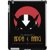 The Adventures of Appa and Aang (Red) iPad Case/Skin