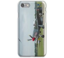 Mustand Mk IV with B-17G 'Sally B' iPhone Case/Skin