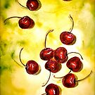 Cherries...Windfall by © Janis Zroback