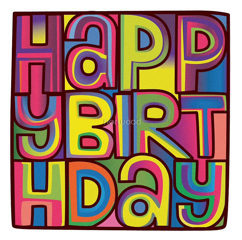 Happy Birthday Card by norwood