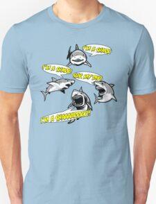 I'm A Shark. Unisex T-Shirt