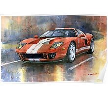 Ford GT 40 2006 Poster