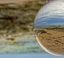 Crystal Ball Beach by threewisefrogs