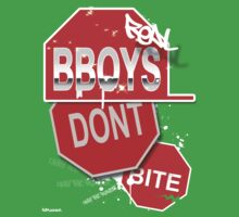 "AOM APPAREL - ""Real B-boys Don't Bite"" by ChaseVmalone"