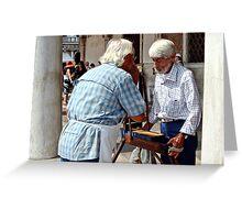 Telling Stories Greeting Card