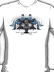Visionaries #2 - Nikola Tesla - Building It In Your Imagination T-Shirt