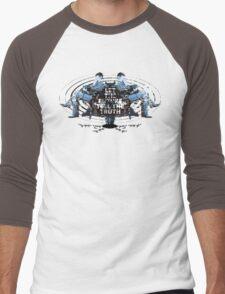 Visionaries #2 - Nikola Tesla - Building It In Your Imagination Men's Baseball ¾ T-Shirt