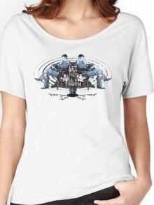 Visionaries #2 - Nikola Tesla - Building It In Your Imagination Women's Relaxed Fit T-Shirt