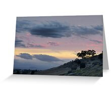 Harcourt Sunset Greeting Card