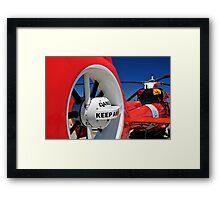 "Coast Guard HH-65 ""Dolphin"" Framed Print"