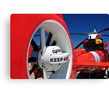 "Coast Guard HH-65 ""Dolphin"" Canvas Print"