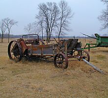 Old Spreader Left to Time by livinginoz