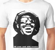 stevie wonder- fill your soul with wonder Unisex T-Shirt