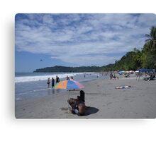 Manuel Antonio Beach Canvas Print