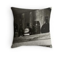 Old & Forgotten (Texas Bar) Throw Pillow