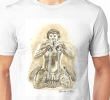 Detail of the fountain of Moro, Piazza Navona, Rome Unisex T-Shirt