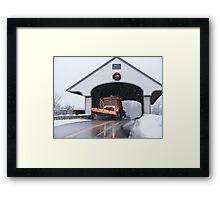 Smith Covered Bridge   Framed Print