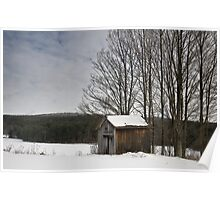 Barn in the quiet Poster