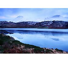 snowy mountains-Kerry Photographic Print