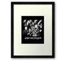 SMEG and the Heads Framed Print
