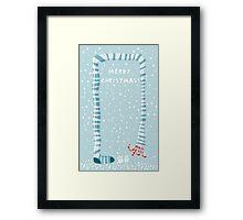 merry xmas 4 Framed Print