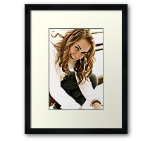 Be Silly Framed Print