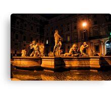 La Fontana del Moro Canvas Print