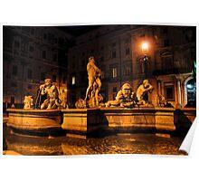 La Fontana del Moro Poster